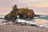 108.52 - Grand Portage: Hollow Rock:  Sunset Two, Reflecting Sky
