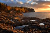 31 - Split Rock Lighthouse Beach, Golden Morning Light