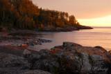 71.7 - Temperance River Mouth, Sunrise