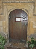 Church Door St Georges Church Kings Stanley.