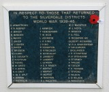 Those who returned from War...Silverdale District.