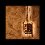 Hanging light.