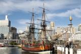Endeavour Replica, Darling Harbour
