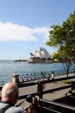 Opera House, Sydney, Taken from the Explorer Bus