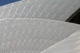 Close up of Tiles on Sydney Opera Hosue