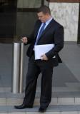 Sydney Businessman Texting
