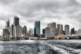 Sydney on a grey day.