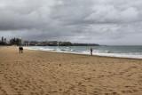 Manly, Sydney on a grey day