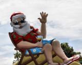 Kiwi Santa in shorts and Jandals :-)