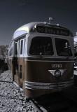 Streecar (trolley)-8335 infrared Muesum of Transportation