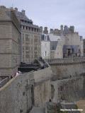 St. Malo - op de muur