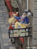 St. Malo - de beurshandelaar gaat er met de poet vandoor