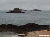 Voor de kust bij St. Malo
