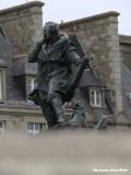 St. Malo - beeld op de muur