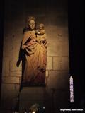 Madonna in de kerk