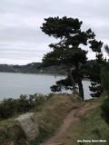 Langs de estuarium van de Leguer