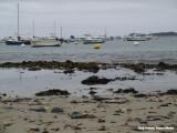 Locquémeau - de baai is een jachthaven