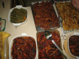 Haitian meal at the work and witness center