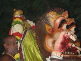 kavitharkika simham in simhavanam.JPG