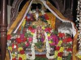 Thirumaligai Perumal adorned with Periya Perumal uduthu kalaintha peedhagavaadai and thirumaalai.jpg