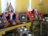 sri vaikuntaperumal with Sri embar at maduramangalam - Thirunakshatram day after thirumanjana avasaram.jpg