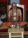 HH Vanamamalai Jeeyar swamy in the sevakala goshti.jpg