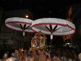 Azhagiya singar Purappadu in the evening.jpg