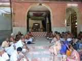 gOshti on kulasEkarAzhwar thirunakshatram day.jpg