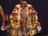 Parthasarathi on Thirukkacchi nambigal sattrumarai day.jpg