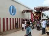Bakthavatsalan during Theerthavari Purappadu.JPG