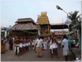 6th day - Parthasarathi in punnyakOti vimanam purappadu.jpg