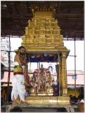 6th day -Parthasarathi in punyakOti vimanam.jpg