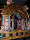 Theerthavari day - evening - Partha in kannadi pallaku.JPG