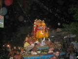 Yali purappadu reaching temple.JPG