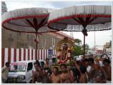 ThiruvAdipooram - Andal purappadu in mAda veethi1.jpg