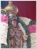 9th day morning -emperuman after porvai kalayal - with new mAlai.jpg