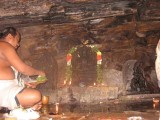 SrI Jwala nrusimhan - piercing hiranyan belly on the garudan pedestal.jpg