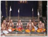 HH Sri Vanamamalai Jeeyar swamy giving his Anugraha bhashanam.jpg