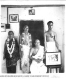 Sri ASR Swamy Dampathi with Sri D.R.Swamy & son Rajagopalan during his shashtiabhapurthi .JPG
