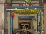 Aacharyaan in Tirumanjanam Madapam.JPG