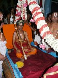 Jeeyar swamy  about to start pattinappravesam in Thiruvallikeni2.JPG