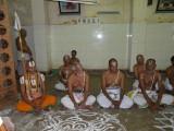 Sriperumbuthur Govinda ethirAja jeeyar and thiruvallikeni adhyapakas.JPG