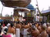 Sri Bhakthavatsalan in Garudasevai - Goshti thodakkam
