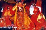 Have the darsanam of Mukti Narayana with Sridevi, Bhu devi