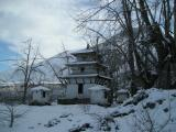 A Pagoda-type complex near temple