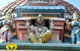 Sri NarasimhasvAmy adorning the vimAnam
