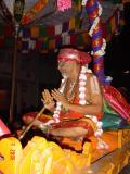 HH Sri Azhvar thirunagari emperumAnAr Jeeyer rendering his mangalasasanams to Thiruvallikeni bhagyashalis.JPG