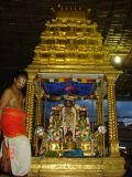 Azhagiya singar in Punyakoti vimanam.JPG