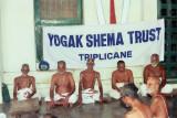 Scholars in a satsangam