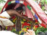 13-Azhvar being honored with Garland for conducting Adhyanothsavam in Srirangam.jpg
